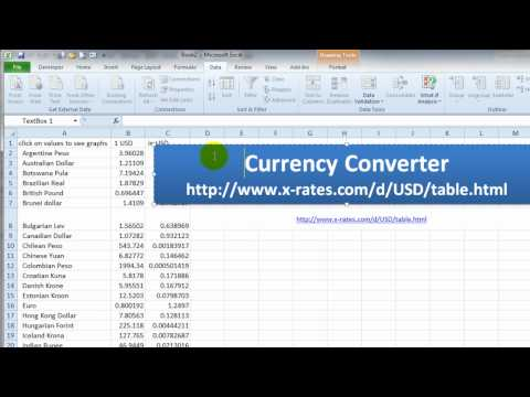 Currency Converter Form Part 1