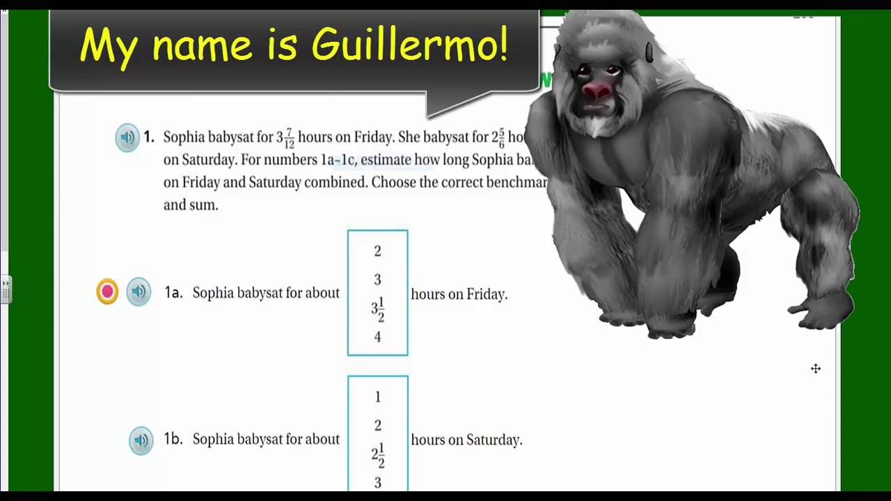 medium resolution of Go Math 5th Grade Chapter 6 Review Part 1 - YouTube