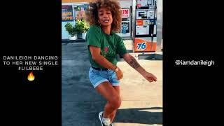 DaniLeigh Dancing To Her New Single #LilBebe, LIT!🔥