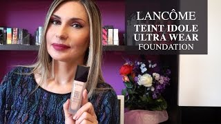 RECENSIONE LANCÔME TEINT IDOLE ULTRA WEAR FOUNDATION || LadyGlow