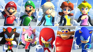 Mario & Sonic at the Olympic Games Tokyo 2020 - All Success Animations (Surfing)