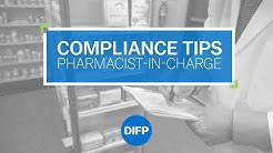 Compliance Tips for the Pharmacist-in-Charge