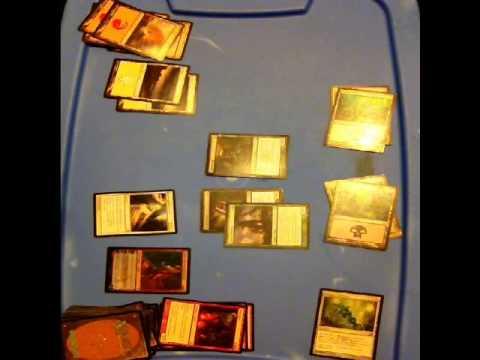 Magic the Gathering game one: Scott vs Aaron
