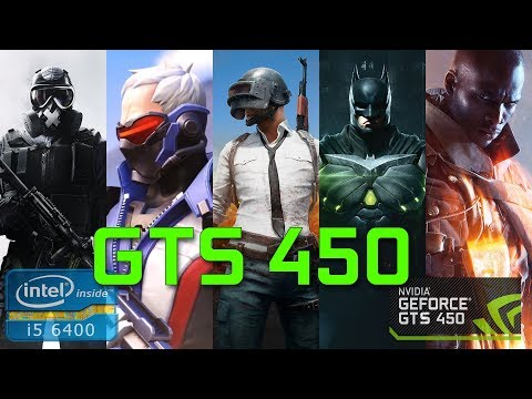 GTS 450 in 5 games [ENG/RUS] (2018)