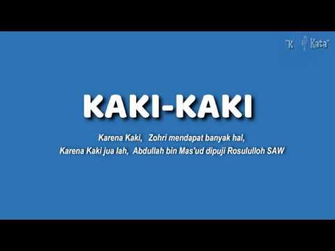 Karena Kaki, Zohri dikenal Dunia, Karena Kaki jualah Abdullah bin Masud dipuji Rosululloh SAW