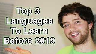 Top 3 Programming Languages for 2019 (with my thoughts on each)