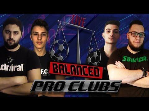 PRO CLUBS!!!   BALANCED