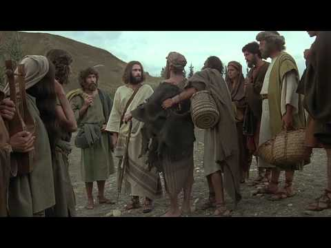 JESUS (English) Healing of the Blind Beggar, Bartimaeus