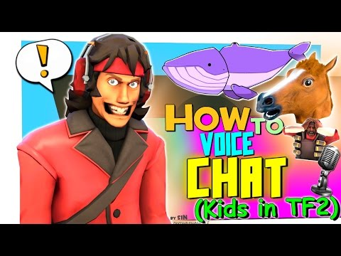 TF2: How To Voice Chat (Kids In TF2)