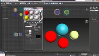 3D Max. Урок №20. Редактор материалов. Compact Material Editor.