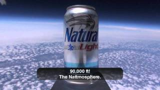 Natty Light First Beer In Space HD