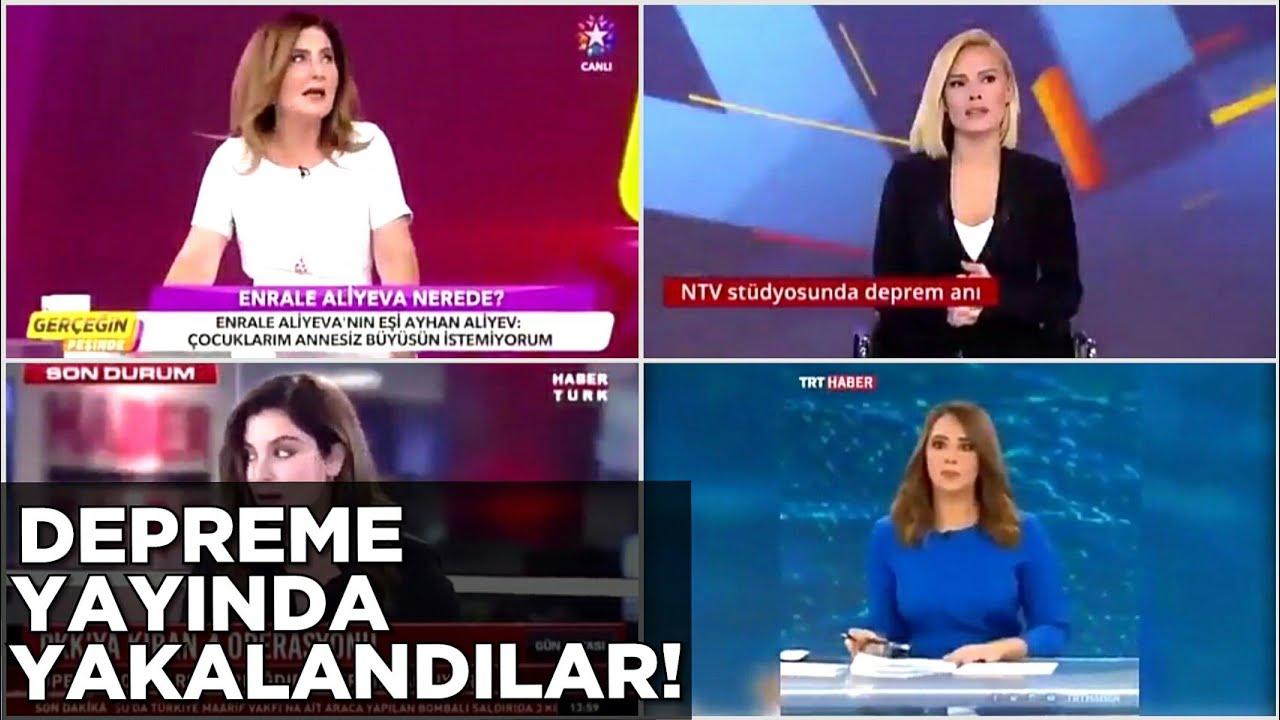 Canlı Yayında Depreme Yakalananlar 26 Eylül 2019 13.59  - İstanbul Depremi