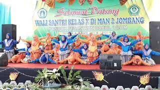 MAN 2 JOMBANG Tari Saman
