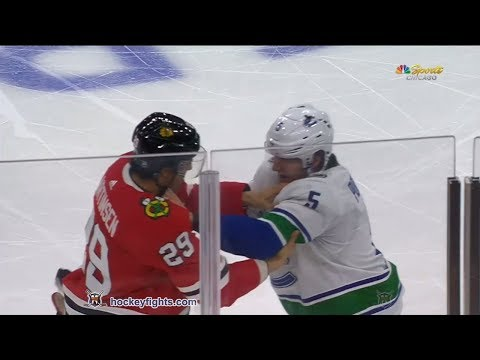 Derrick Pouliot vs Andreas Martinsen Mar 22, 2018