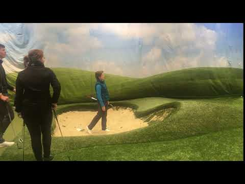 Catriona Matthew visits Golf PAiS Session at Loretto Academy