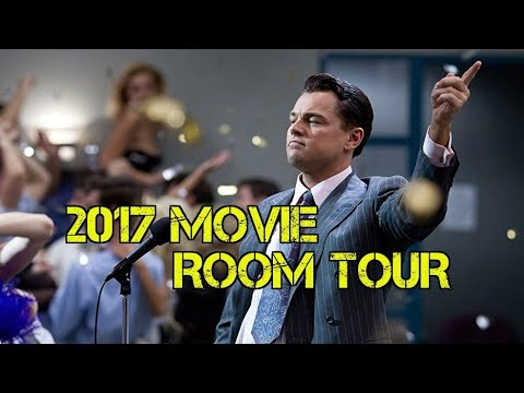 Movie Room Tour / Comic Book Room Tour
