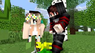 spiderman vs joker and spiderman fall in love - Minecraft Animation