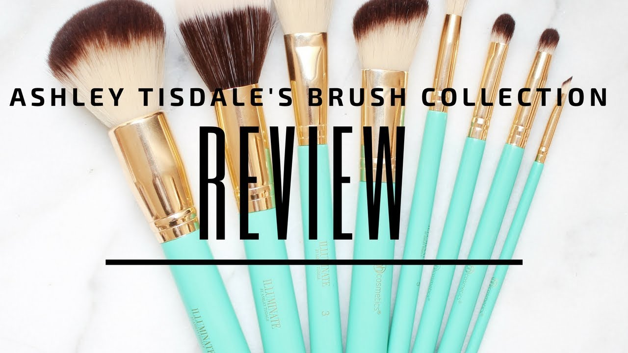 3808050f15c0 Ashley Tisdale Makeup Brush Review - YouTube