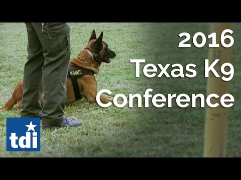 2016 Texas K9 Conference | Texas State Fire Marshal