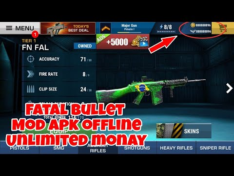 Download Fatal Bullet Mod Apk Unlimited Monay •Game Ringan Cuman 100mb•