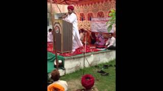 Ramlal Jat- MLA - Bhilwara, addressing people of Tahuka place