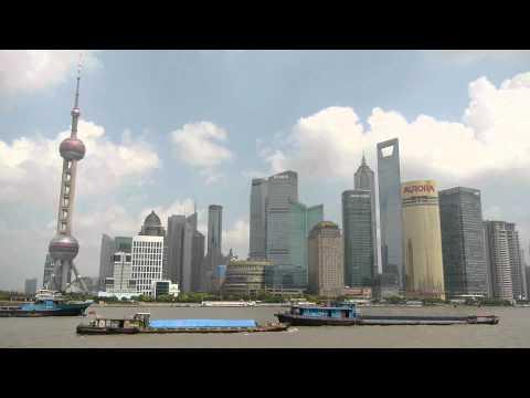 Shanghai, вид с набережной Вайта́нь (The Bund), Китай