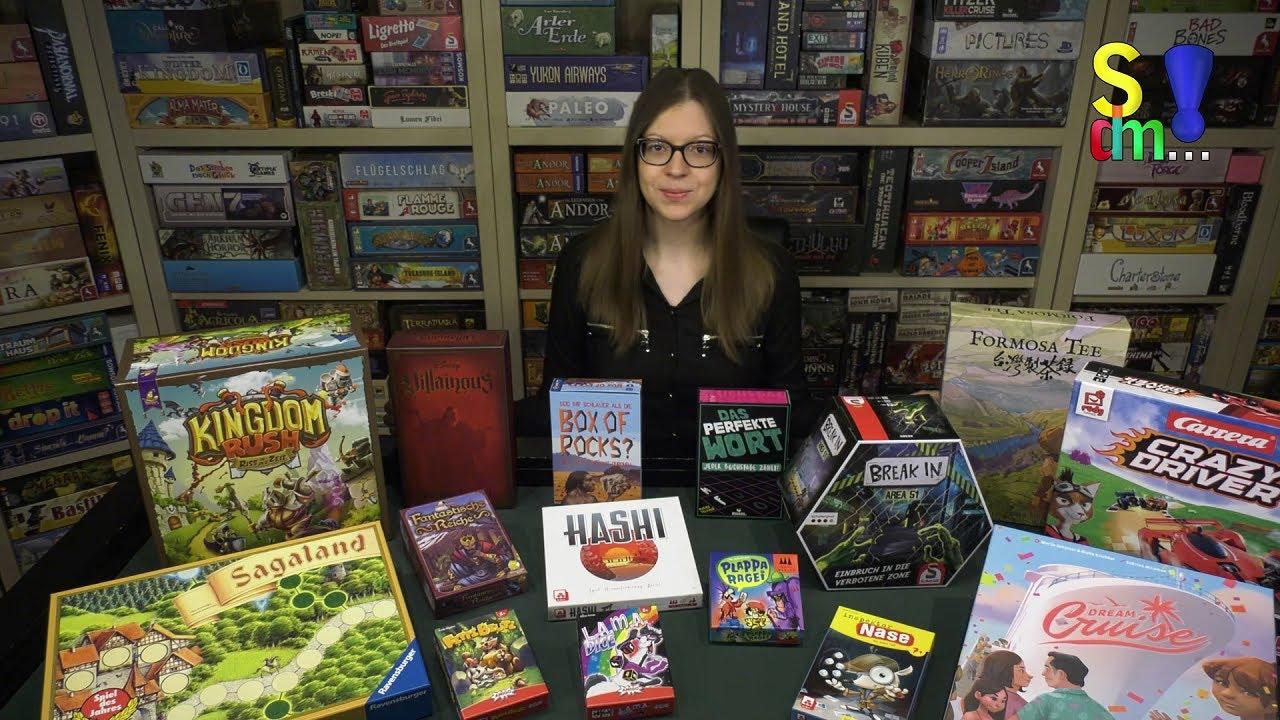 18 Neuheiten im Überblick & News rund um die Spielwarenmesse 2021 +++ Spiel doch mal...!