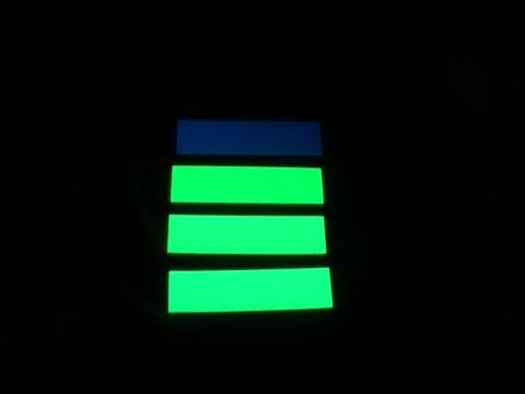Moonglow & Kirinite(TM) Glow in the Dark (GITD) Scales Comparision
