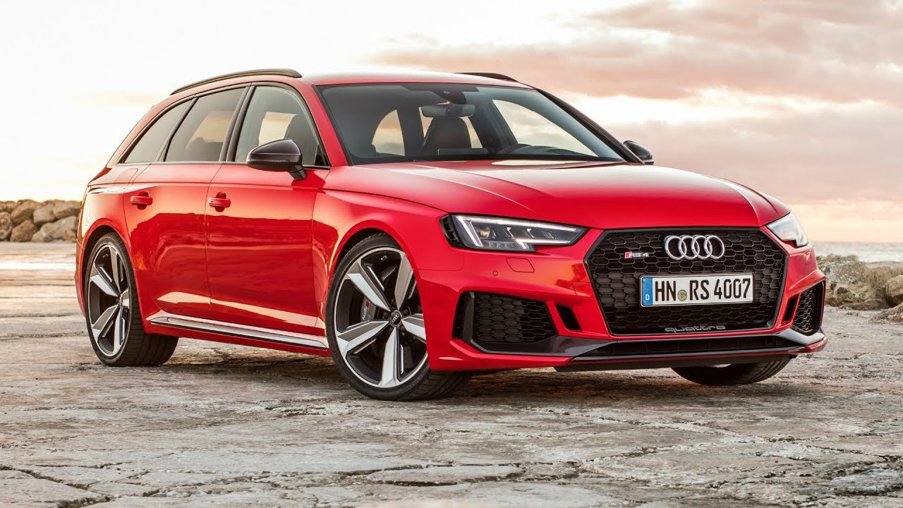 Red Audi RS Avant Kh Acceleration And Hp Engine - Red audi