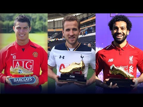 Premier League Golden Boot Award Winners II 1992 - 2018 II