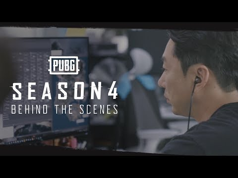 PUBG - Season 4 Behind The Scenes