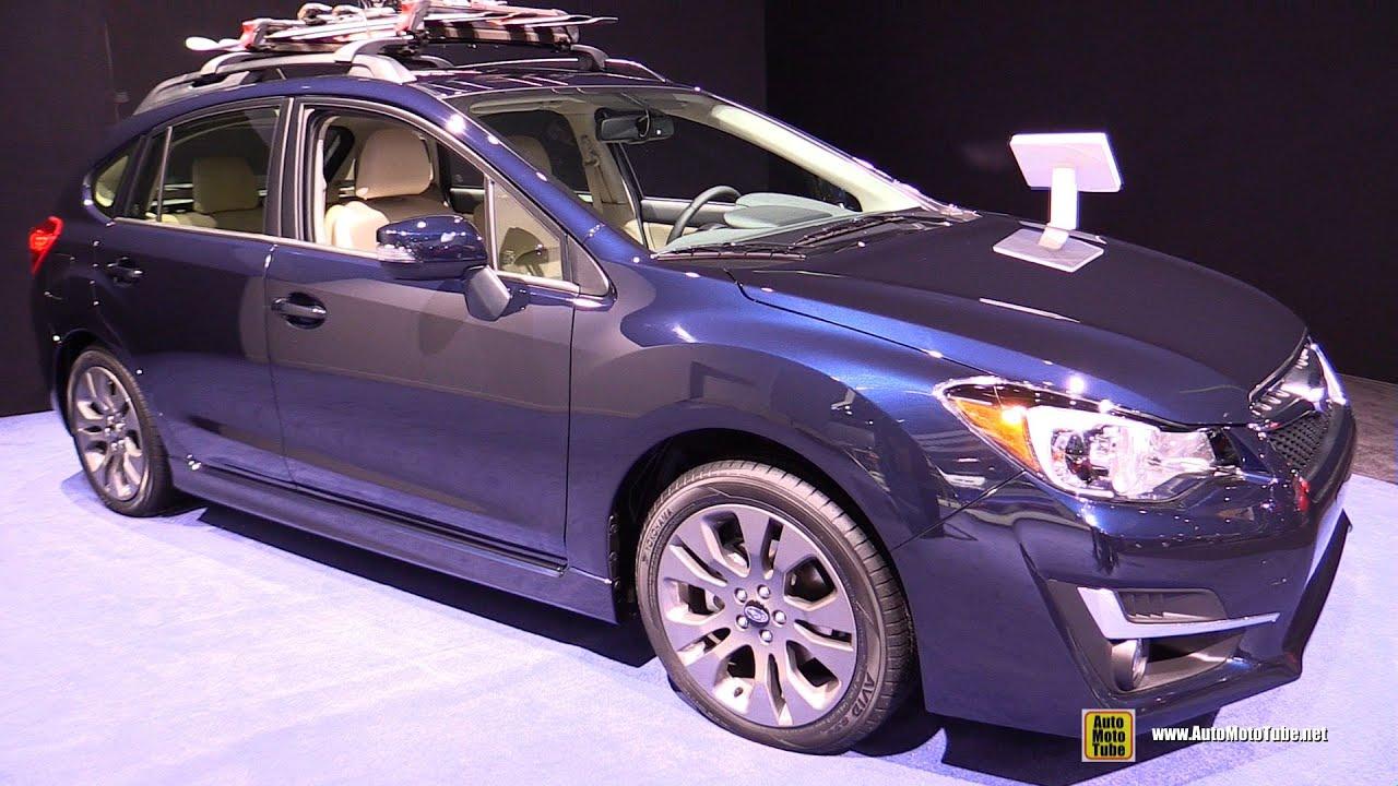 2015 subaru impreza 2-0i sport premium - exterior and interior