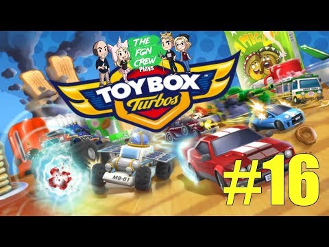 The FGN Crew Plays: Toybox Turbos #16 - Straight Winning! |