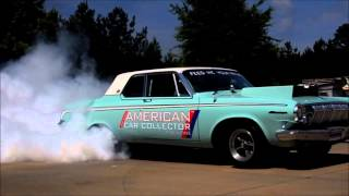 Big block Hemi Dodge 440 burnout