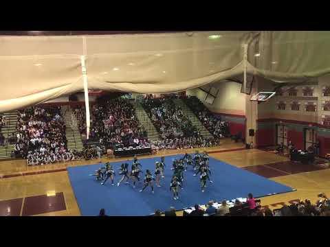 Damascus High School Varsity Cheerleading Montgomery County Champions 2017-2018
