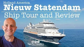 Holland America Nieuw Statendam Ship Tour And Review. 6 Things You Need To Know