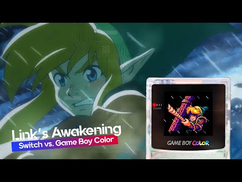 Link's Awakening: Switch vs. Game Boy Color | BitMe