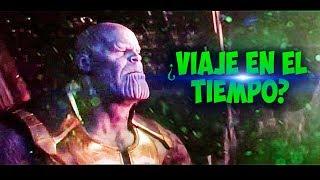¿Thanos Viajo en el Tiempo al Final de INFINITYWAR? TEORIA