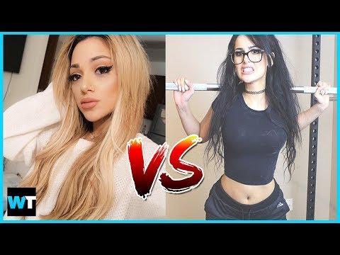 GABI DEMARTINO and SSSNIPERWOLF Beef Over Ariana Grande?!