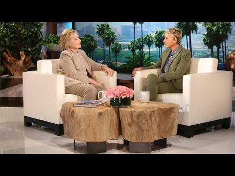 Hillary Clinton Talks Hot Topics