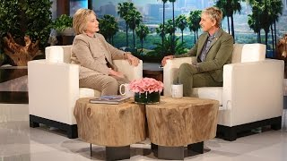 Hillary Clinton Talks Hot Topics