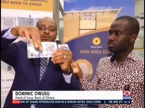 How To Recognize The New 200 And 100 Ghana Cedi From A Counterfeit