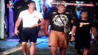 CRISTIANO RONALDO Apanhado Urinar em via Publica em SAINT TROPEZ (02/06/2015)