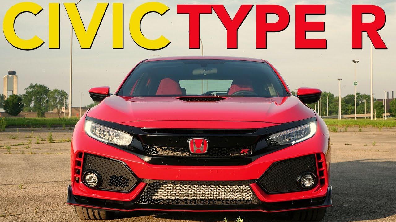 2017 Honda Civic Type R Review - YouTube