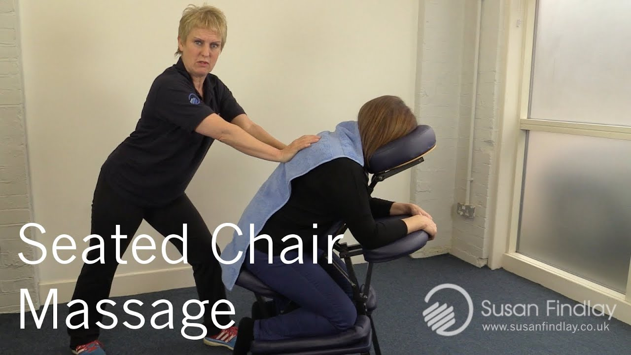 Chair massage therapy - Sports Massage Therapy Seated Chair Massage Massage Monday