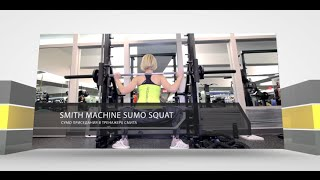 Smith Machine Sumo Squat - Сумо Приседания в Смите