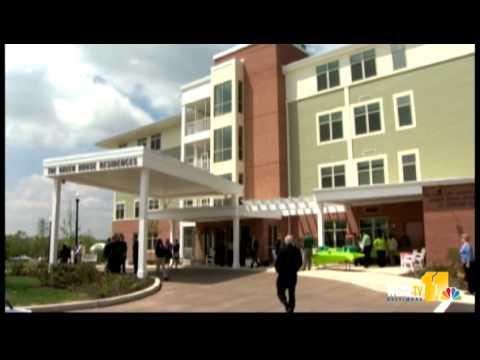 Senior living facility opens on Memorial Stadium site