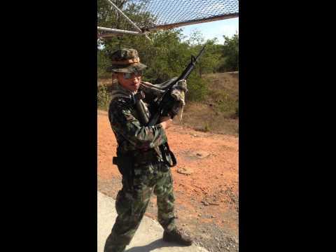 M16A4เอ็ม16เอ4ยิงทดสอบ test firing power