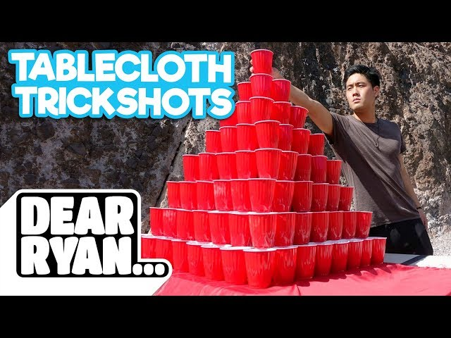 Tablecloth Tricks! (Dear Ryan)