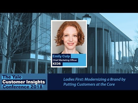 Emily Culp, Keds: Ladies First: Modernizing a Brand by Putting Consumers at the Core